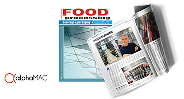 The AlphaMAC vision on Food Processing Magazione